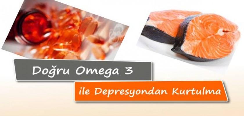 Doğru Omega 3 İle Depresyondan Kurtulma