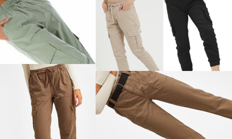 Kadın Kargo Pantolon Modelleri