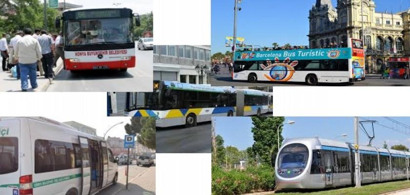 Şehir İçi Ulaşım Çeşitleri