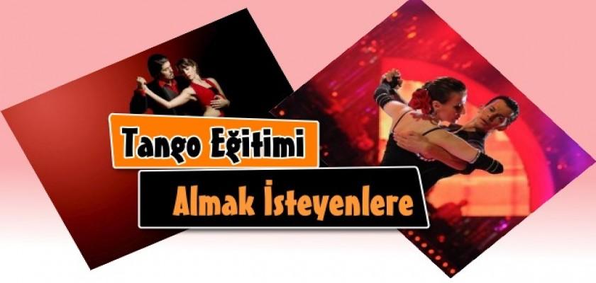 Tango Eğitimi Almak İsteyenlere