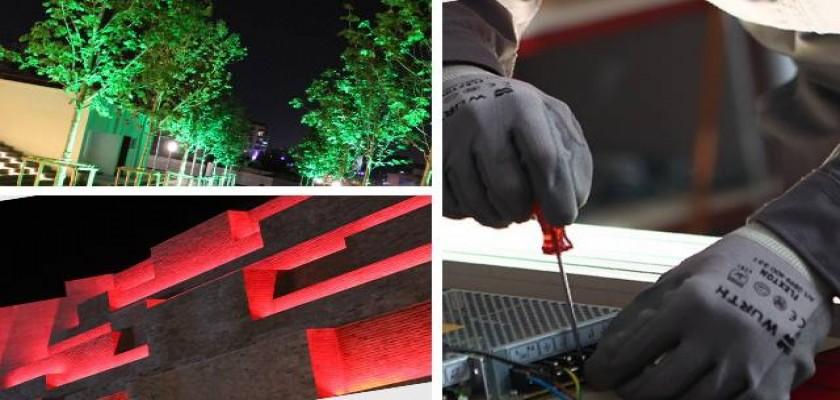 Wallwasher LED Aydınlatma Sistemleri