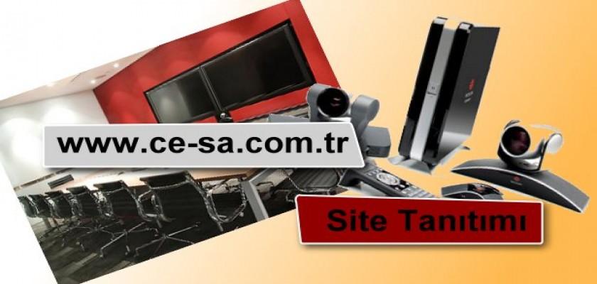 www.ce-sa.com.tr Site Tanıtımı